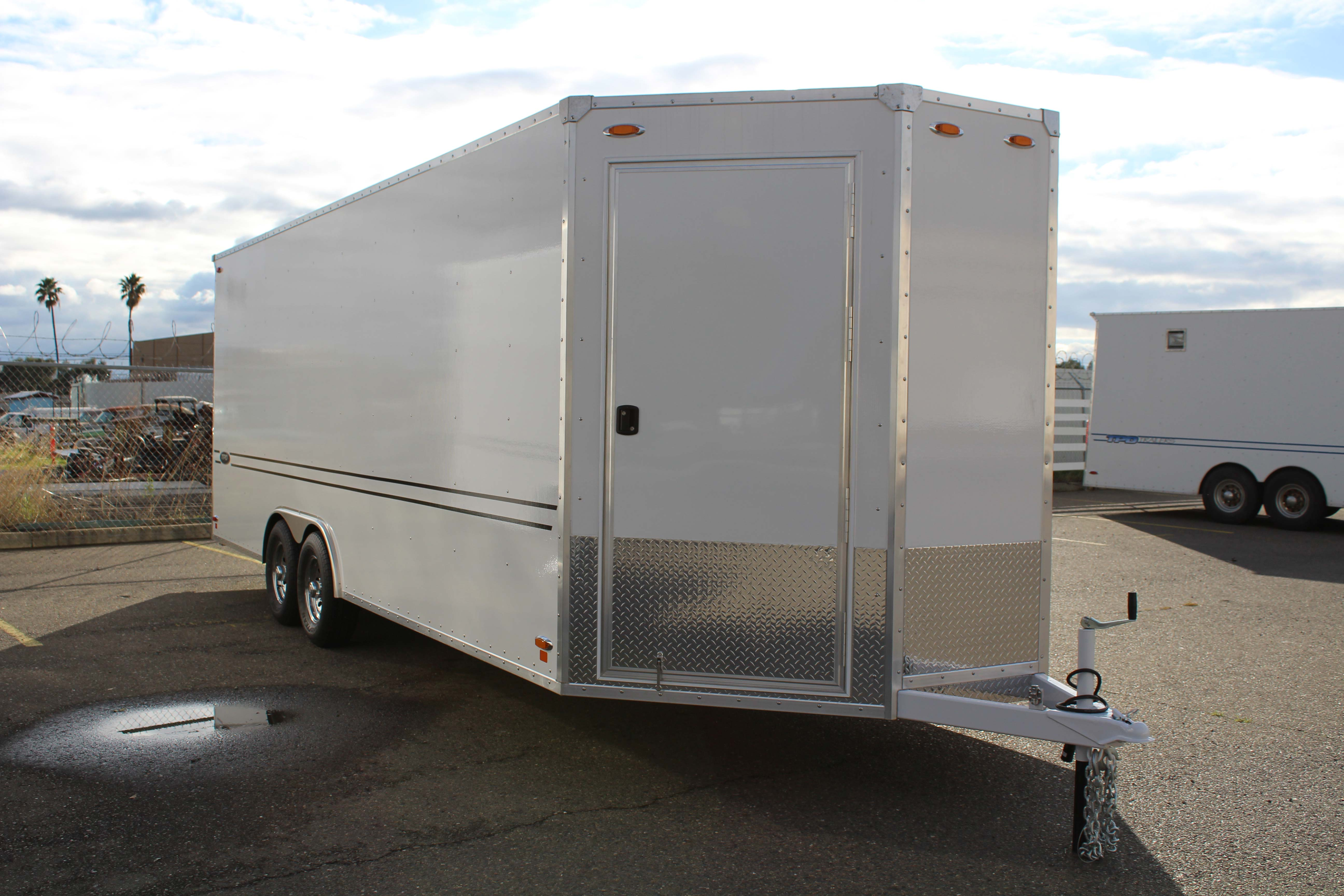 New 27 Foot Quot V Nose Quot Tpd Trailer Tpd Trailers