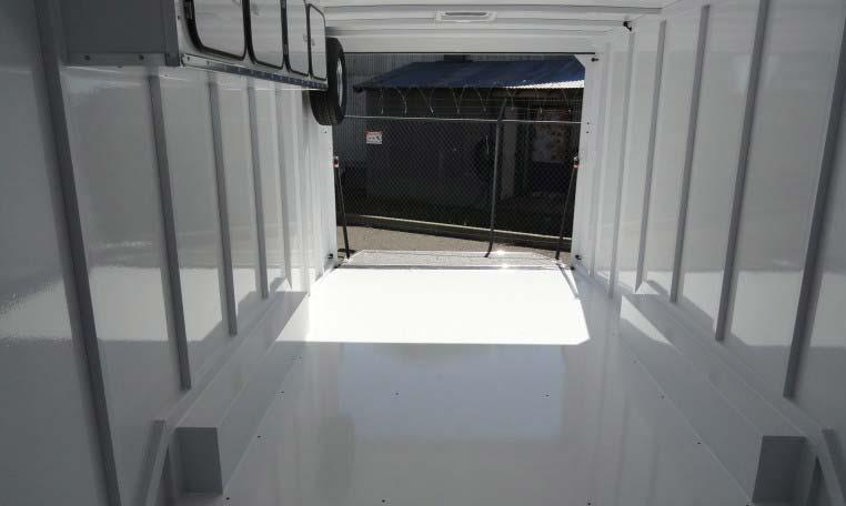 24' TPD Trailer interior