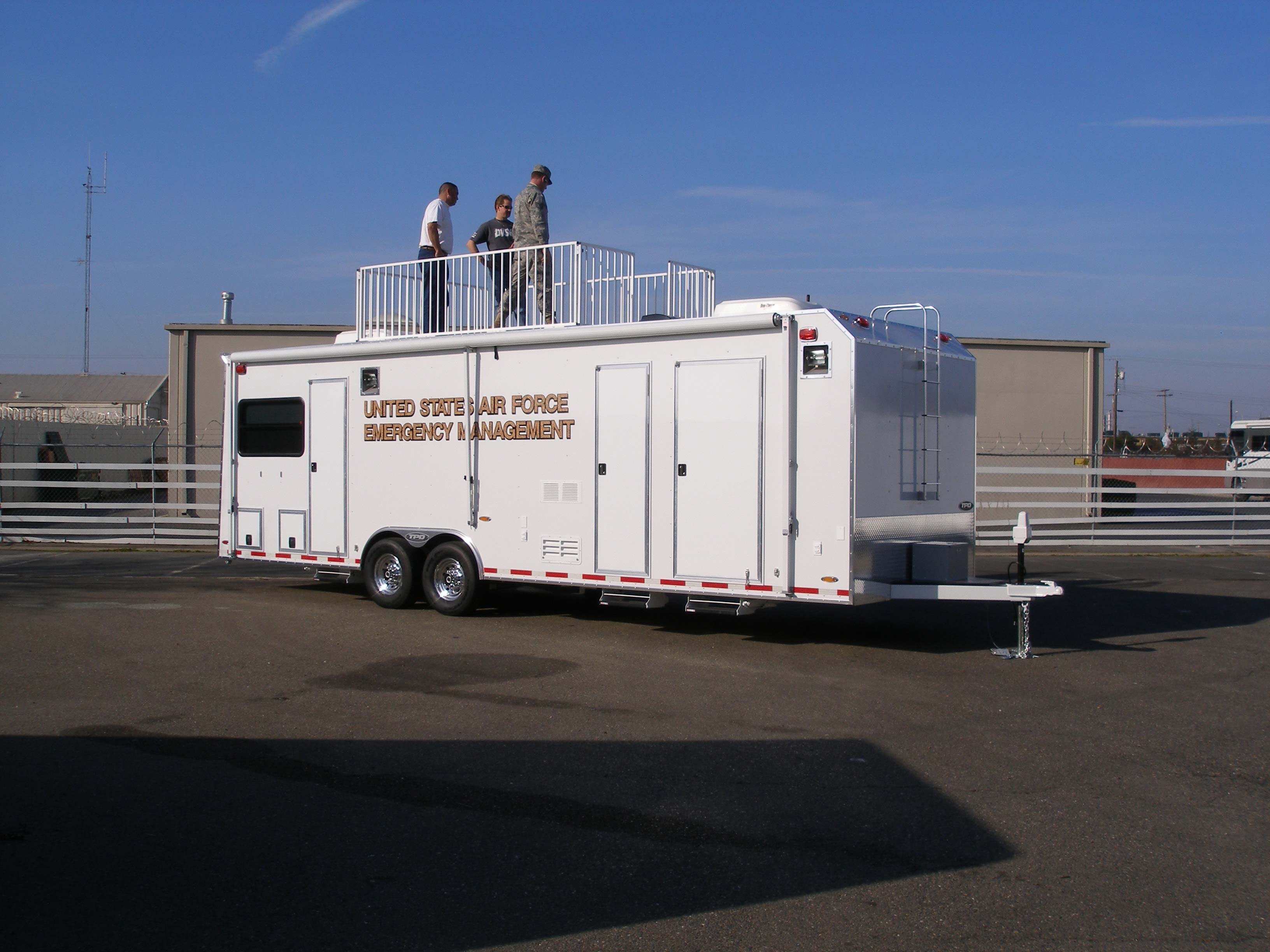 TPD Trailers - Custom enclosed Mobile Command trailers